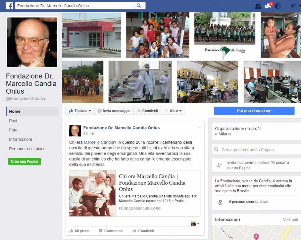 Fondazione Candia Home Facebook